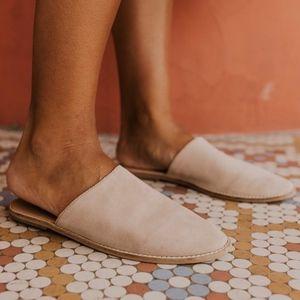 Free People Bellini Coronada Slip On Suede Mules